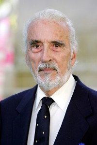 LONDON - JULY 17:  (UK TABLOID NEWSPAPERS OUT) Actor Christopher Lee arrives at the UK Premiere of