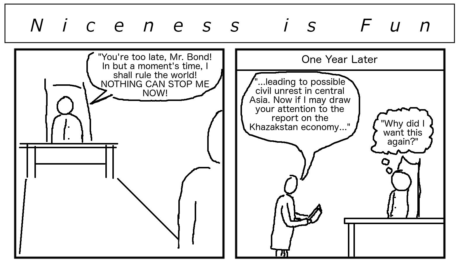 Nicness is Fun #18
